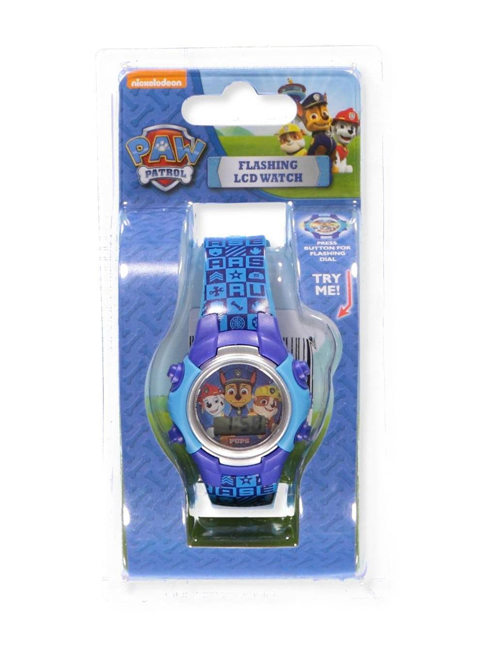 Paw Patrol Flashing LCD Watch