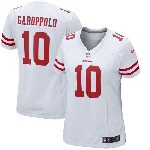 Jimmy Garoppolo San Francisco 49ers Nike Women's Team Color Game Jersey - White