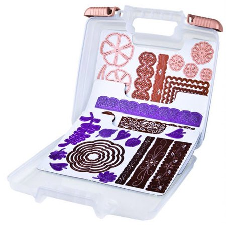 Artbin Die Cut Plastic Storage Case With 3 Magentic Sheets ()