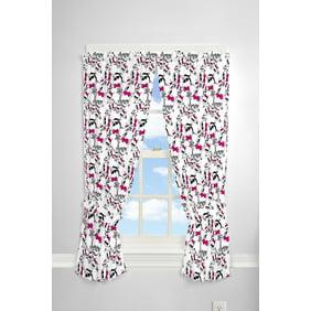 Monster High Pins And Needles Girls Bedroom Curtain Panel 63 In L Set Of 2 Walmart Com Walmart Com
