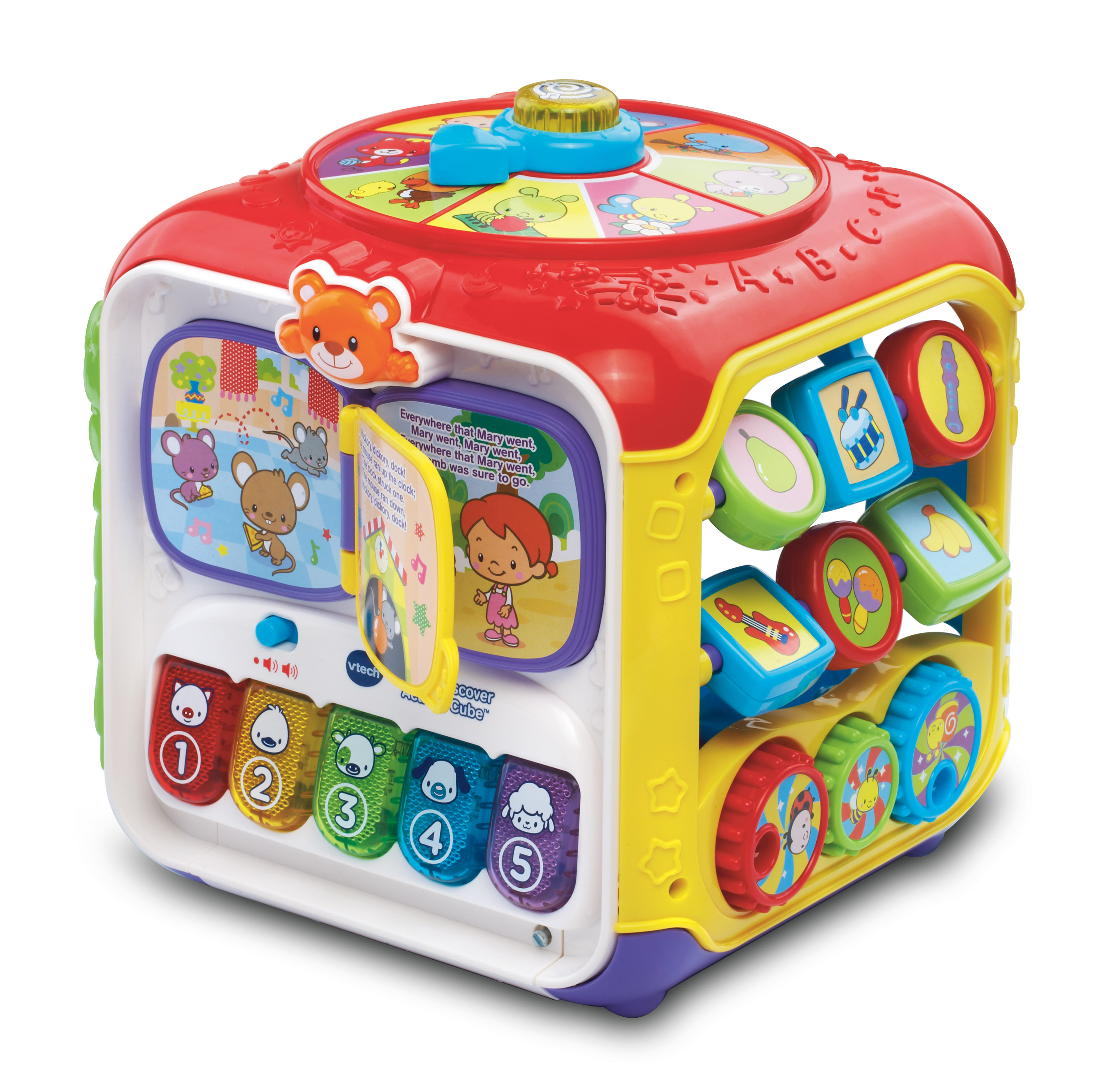 VTech Sort and Discover Activity Cube Red