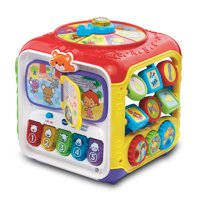 VTech Sort and Discover Activity Cube, Learning Toy for Baby Toddler