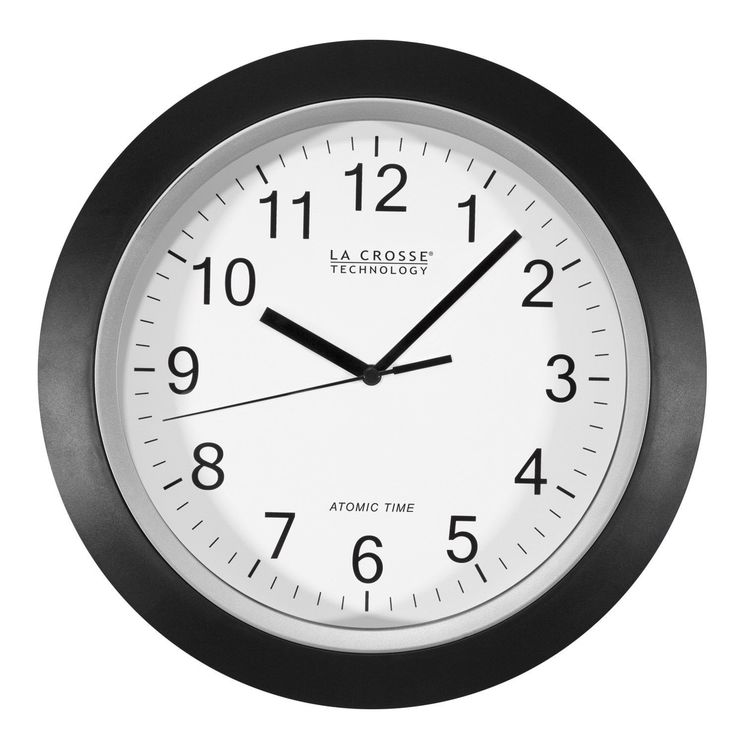 Better Homes and Gardens 12 Inch Analog Atomic Wall Clock by La Crosse Technology Ltd.