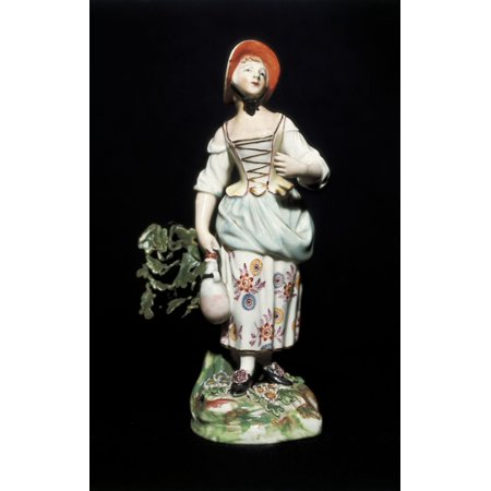 Meissen Porcelain Canvas Art - (18 x 24)