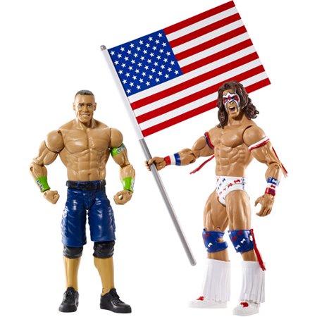 Wwe John Cena And Ultimate Warrior Action Figure Battle Pack