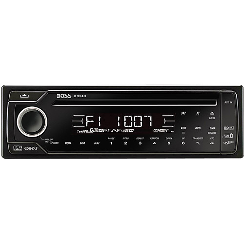 Boss Audio 835UI - 1-DIN CD/MP3 Receiver with Bluetooth Interface