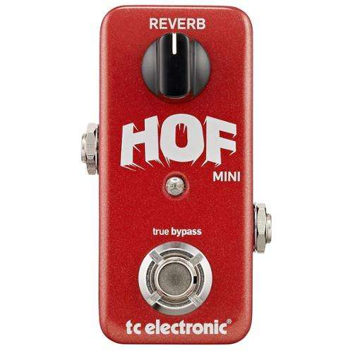 TC Electronic HOF Mini Reverb pedal by TC Electronic