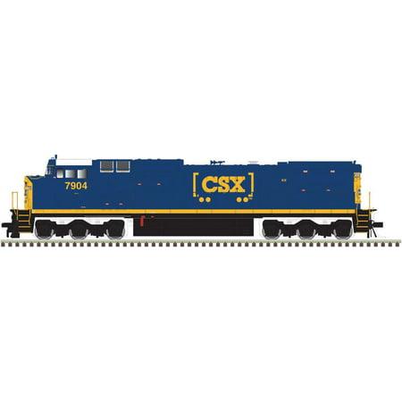 Atlas HO Scale GE Dash 8-40CW (CR Style) (Standard DC) CSX/YN3b/Boxcar #7903 (Atlas Dash)