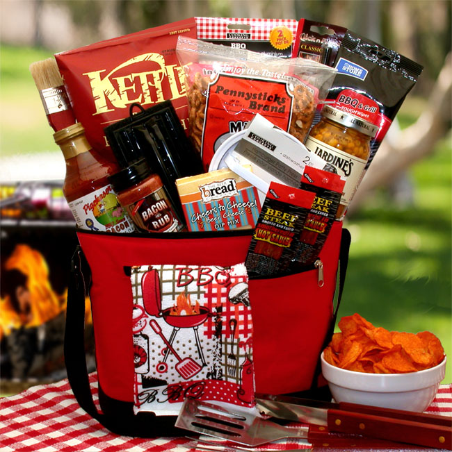Gift Basket 810831 The Master Griller BBQ Gift Chest