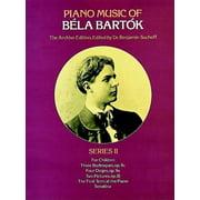 Piano Music of Bela Bartok, Series II
