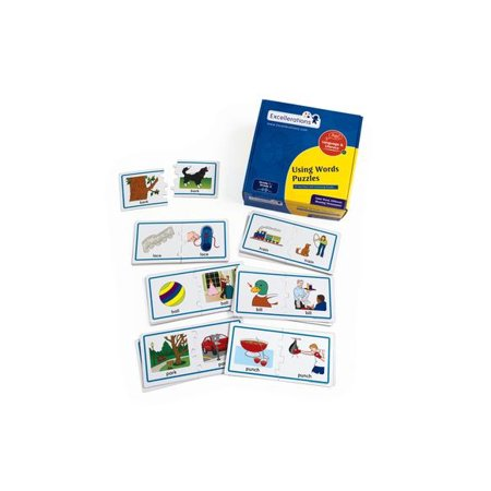 Excellerations Using Words Puzzle - Homophones (Item # - Discount Puzzles