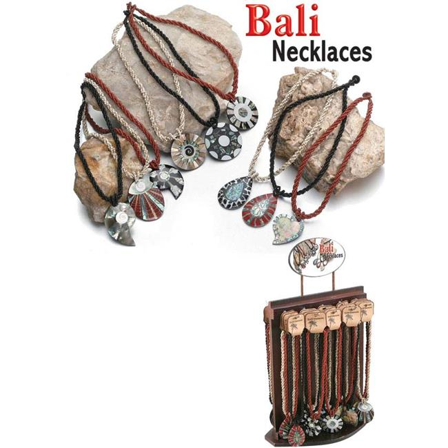 Puka 12522 Bali Necklaces - 72 Pieces Unit