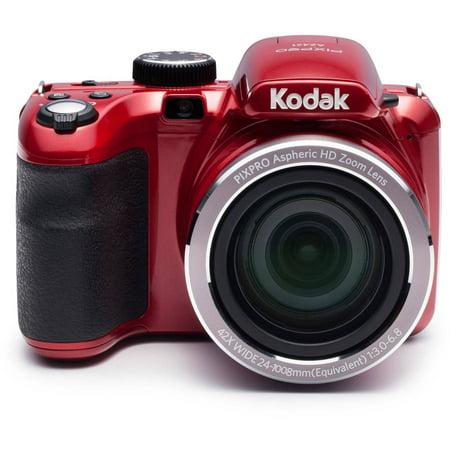 Kodak Red PIXPRO Astro Zoom AZ421 Digital Camera with 16 Megapixels and 42x Optical Zoom