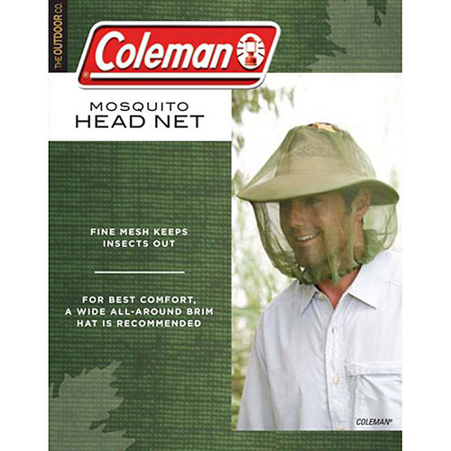 Click here to buy Coleman Mosquito Head Net by COLEMAN.