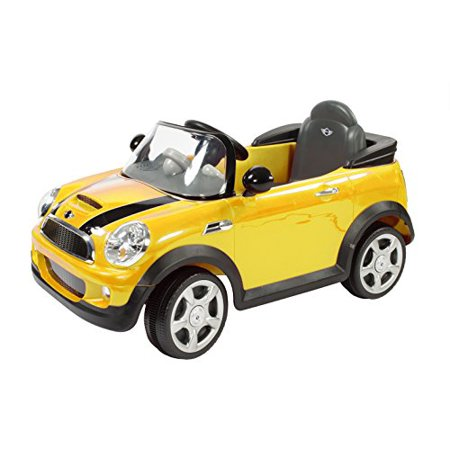 Rollplay MINI Cooper 6-Volt Battery-Powered Ride-On,
