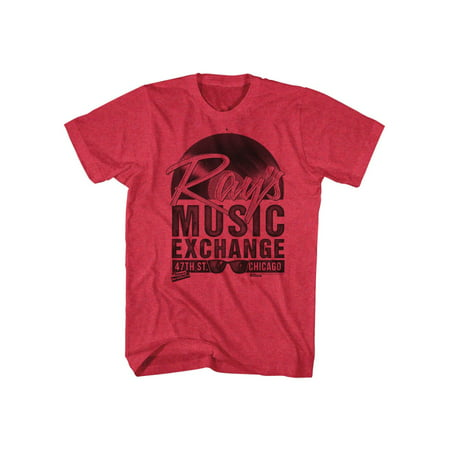 Blues Brothers Comedy Action Crime Rays Music Exchange Chicago Adult T-Shirt (Blues Brothers Miles To Chicago)