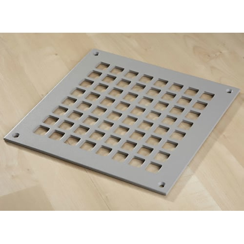 "Reggio Registers G1010-SNH Grid Series 8"" x 8"" Floor Grille without Mounting Holes"
