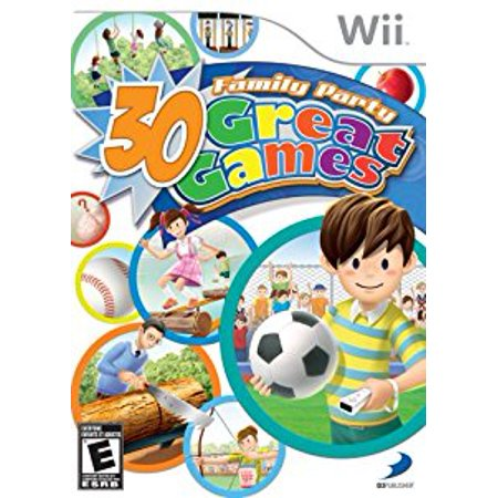 Family Party 30 Great Games- Nintendo Wii (Family Party 30 Great Games For Wii)