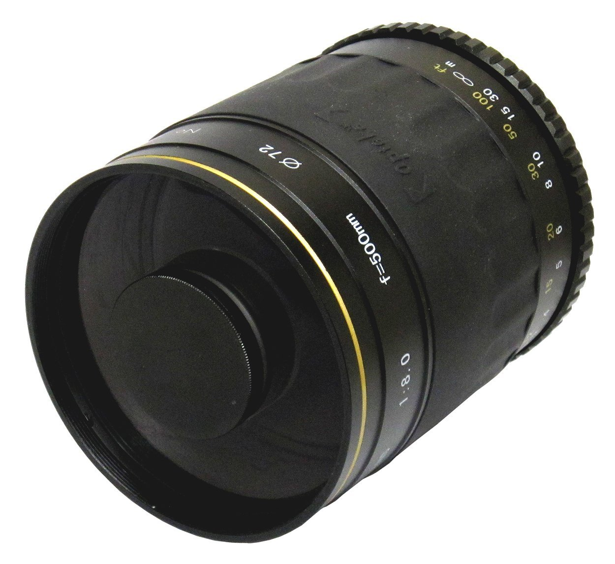 Opteka 500mm f/8 High Definition Telephoto Mirror Lens for Nikon D4S, DF, D4, D3X, D810, D800, D750, D610, D600, D7100, D7000, D5500, D5300, D5200, D5100, D3300, D3200 and D3100 Digital SLR Cameras