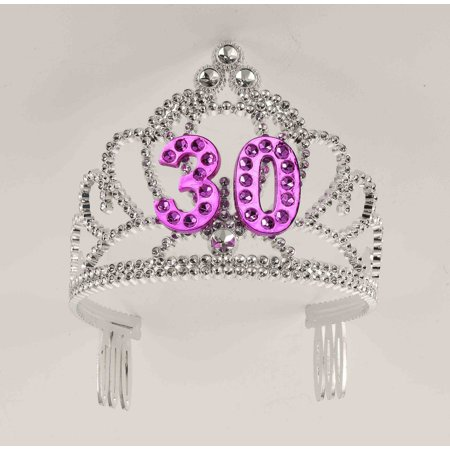 30th Birthday Princess Tiara Crown Party Princess Plastic Tiara