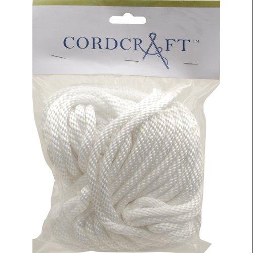 Cordcraft Multiline Sb Braid Nylon, 1/4 X 50, White Multi-Colored