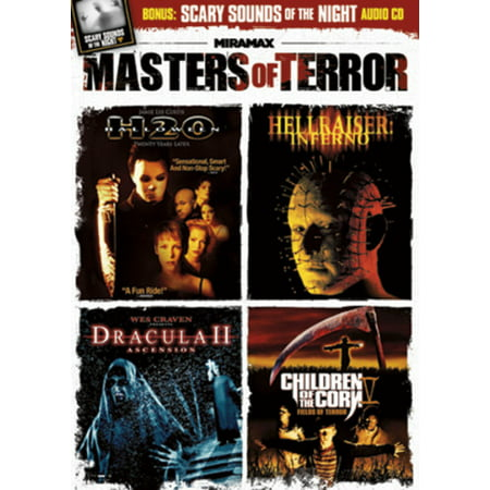 Masters of Terror (DVD + CD) - Halloween 35 Years Of Terror