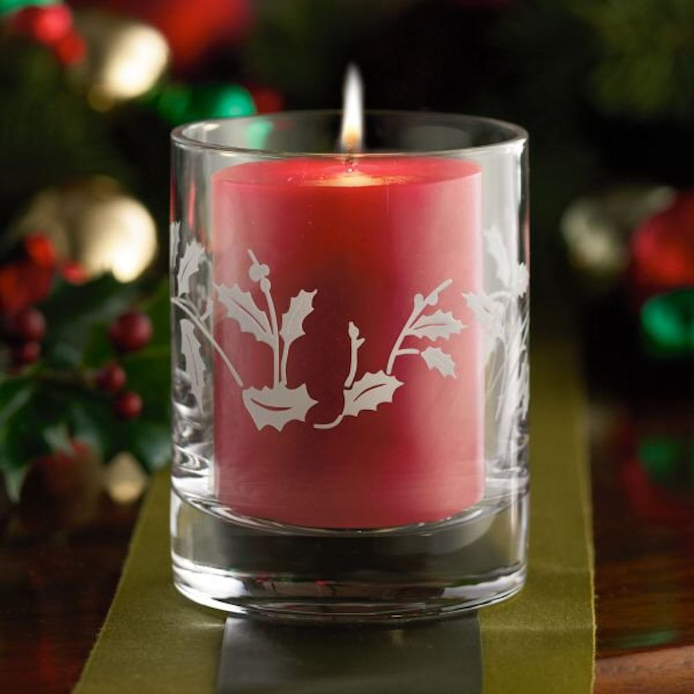 Lenox Christmas Collection 783431 Frosted Lights Holiday Gatherings Candle