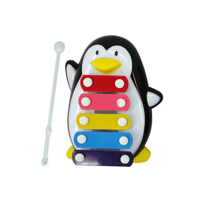 Baby Kid 5-Note Xylophone Musical Toys Wisdom Development Penguin by
