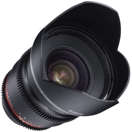 Rokinon 16mm T2.2 Cine Wide-Angle Lens for Micro 4/3 Mount