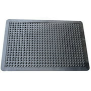 Mats Inc. Cloud Nine Ergonomic Bubble Utility Mat, Black, 2' x 3'