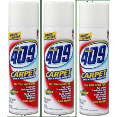 (3 Pack) Formula 409 Carpet Cleaning Aerosol Can, 22 oz