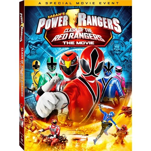 Power Rangers: Clash Of The Red Rangers - The Movie (Widescreen)