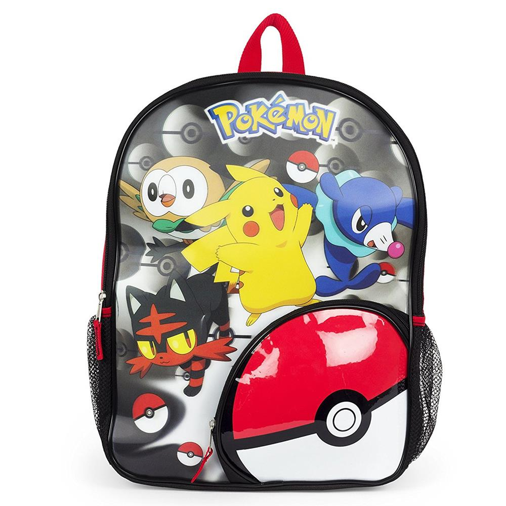 Pokemon Boys 3D Pokeball Backpack