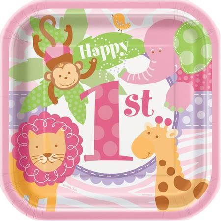 Safari Paper Plates (7