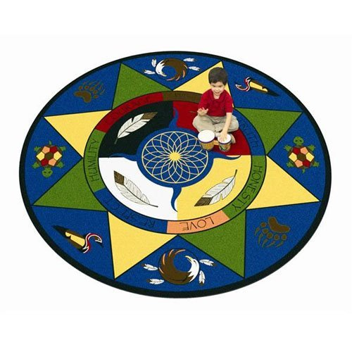 Joy Carpets Spirit of Truth Kids Area Rug