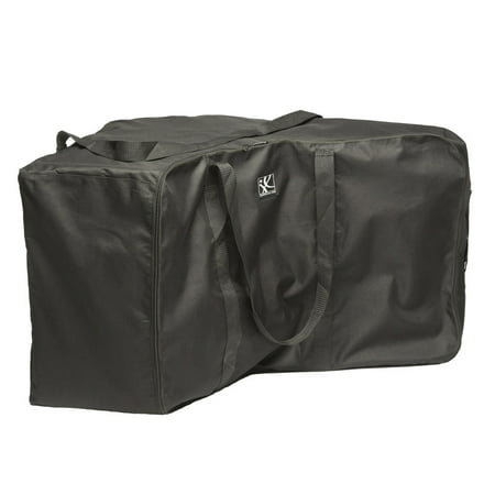 J.L. Childress Universal Side-Carry Car Seat Travel Bag and Carrier, Black Car Seat Carrier Bag