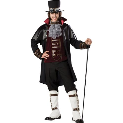 Steampunk Vampire Elite Deluxe Adult Costume X-Large