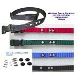 "Sparky PetCo PetSafe IF Compatible 3/4"" BC103 Replacement Bark Collars And PetSafe RFA 529 Refresh Kit, Black"