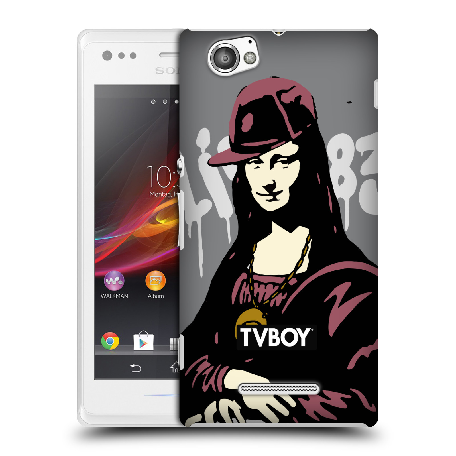 OFFICIAL TVBOY URBAN CELEBRITIES HARD BACK CASE FOR SONY PHONES 3