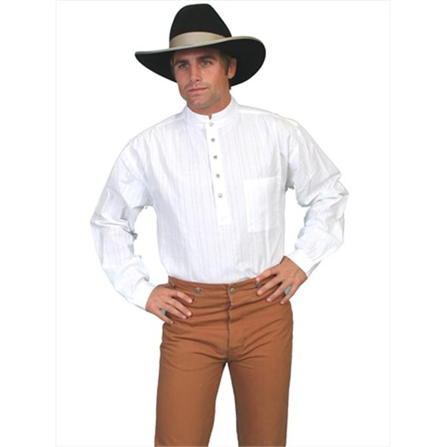 Scully RW015-WHT-L Men Rangewear Shirt - White, Large - image 1 of 1