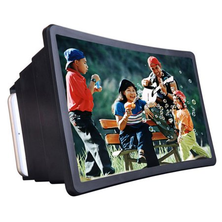 Mobile Phone Video Screen Magnifier Amplifier Expander Stand Holder for 3D Movie Display