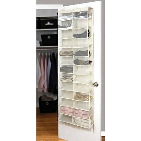 Simplify 26 Shelf Over The Door Shoe Rack Best Closet