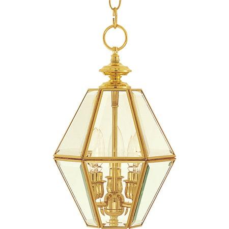 Art Glass Mini Pendant (Maxim 6151 Bound Glass 3-Light Lantern Mini Pendant)