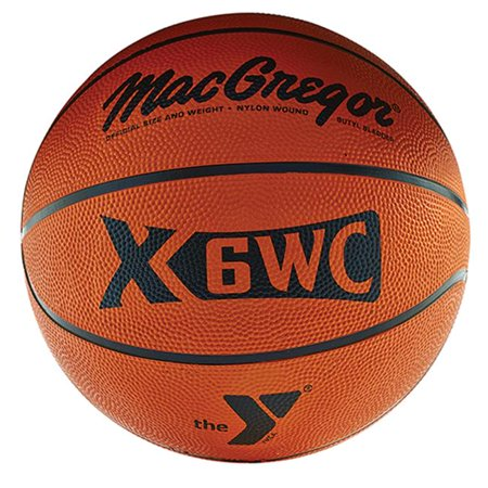 X35WC Official Basketball with YMCA Logo