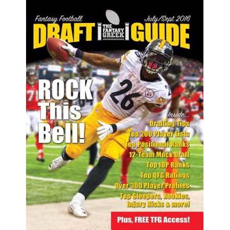 Fantasy Football Draft Guide July/September 2016 (Best Fantasy Football Draft Guide)