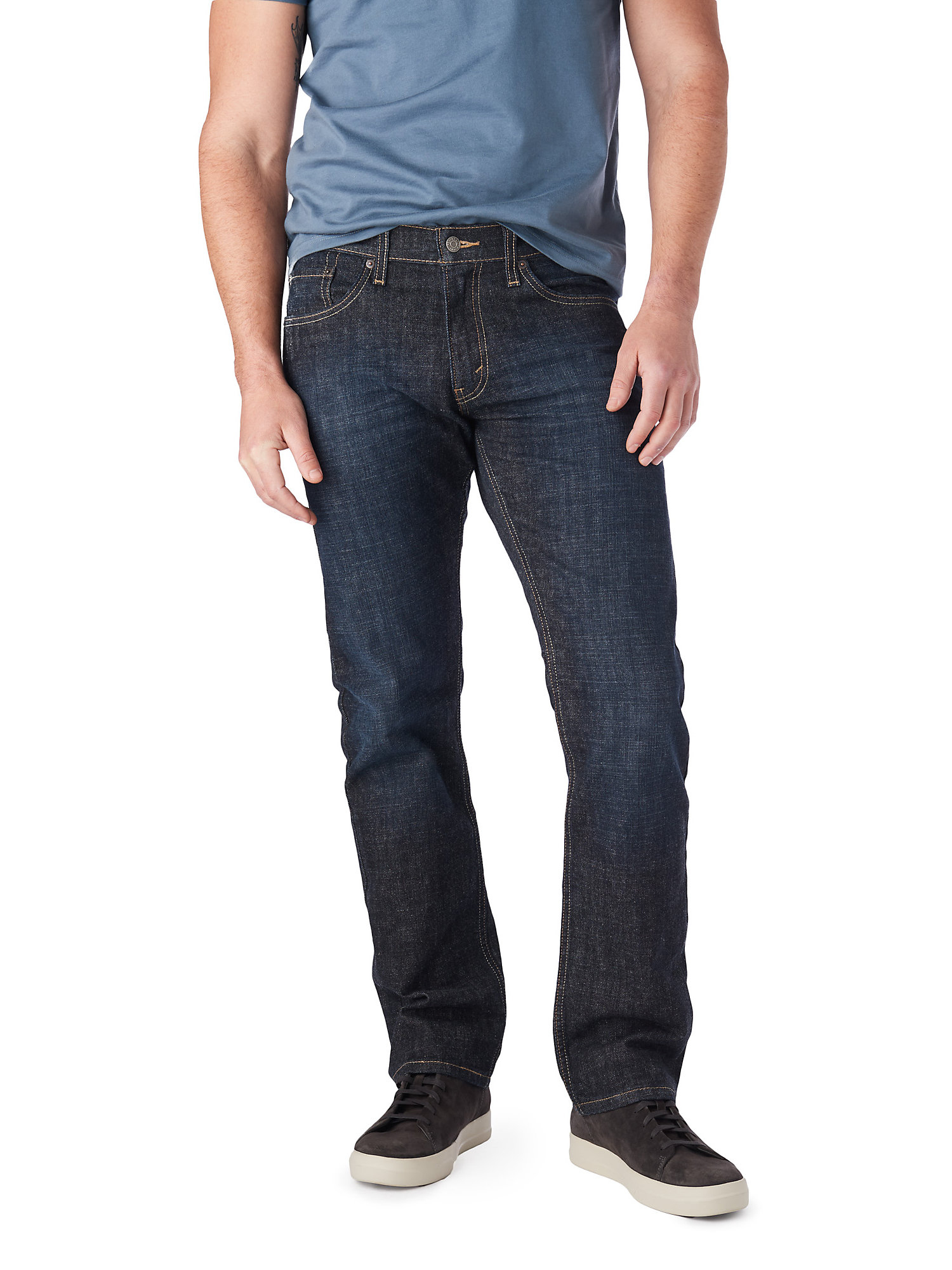 d1b98a67 Signature by Levi Strauss & Co. Men's Straight Fit Jeans – BrickSeek