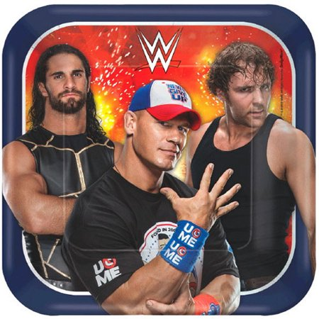 WWE Wrestling Bash Small Paper Plates (8ct) for $<!---->