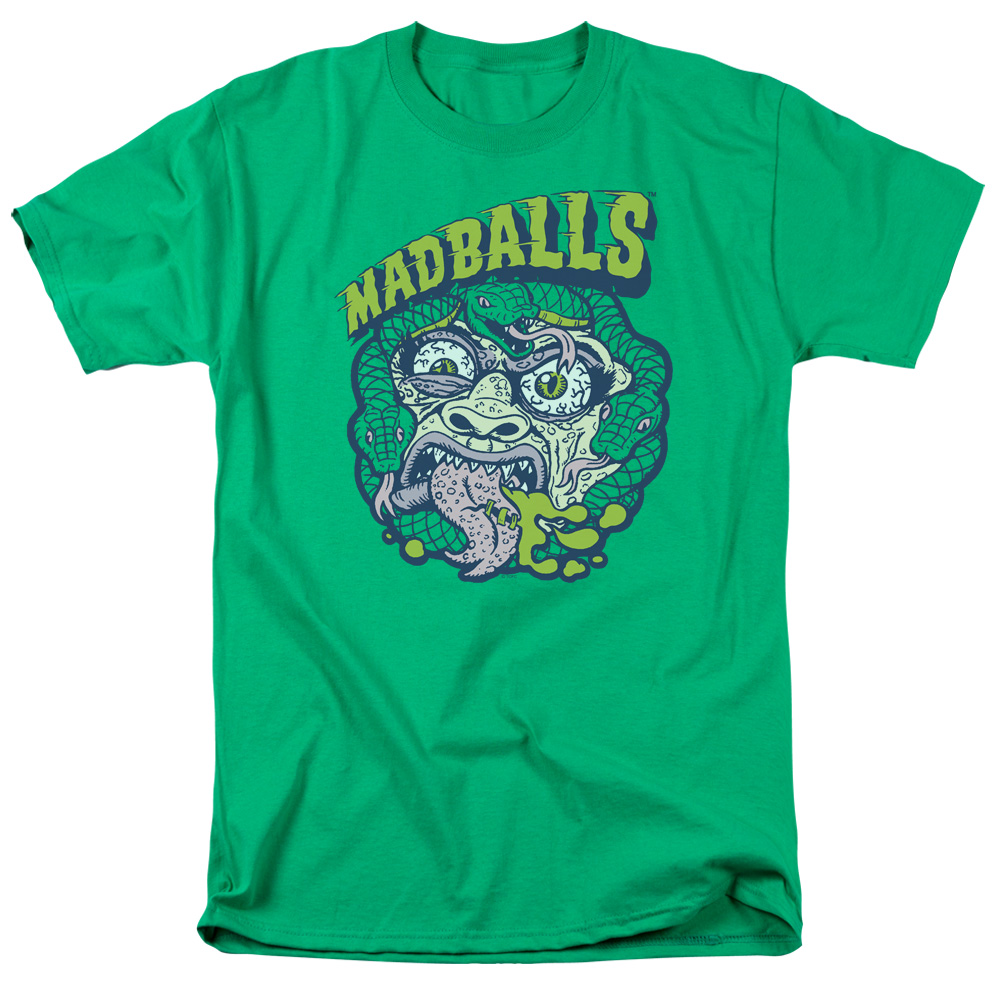 Madballs Snakes Mens Short Sleeve Shirt
