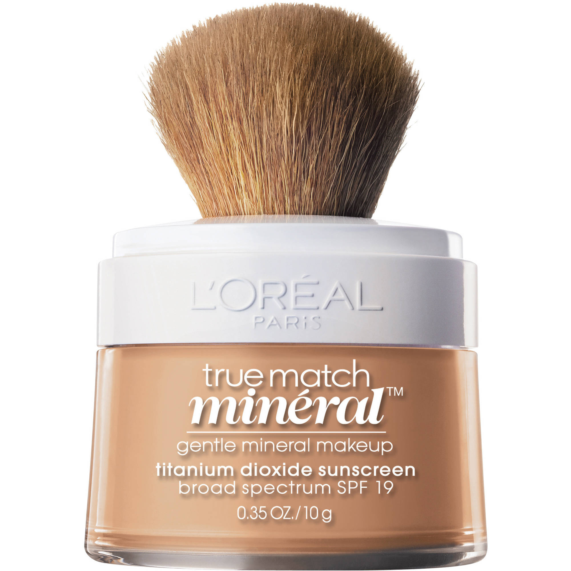 L'Oreal Paris True Match Naturale Gentle Mineral Makeup Foundation, Natural Buff