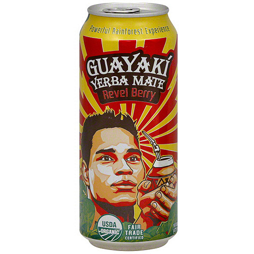 Guayaki Revel Berry Tea, 16 oz (Pack of 12)